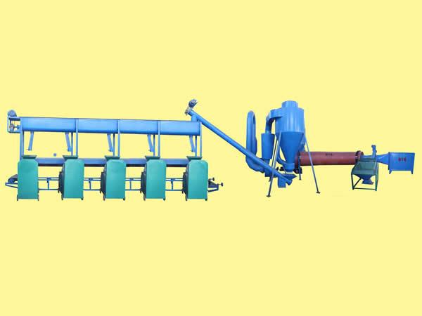 木炭生产线